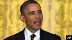 美國總統奧巴馬資料照片。