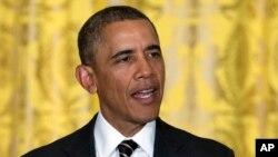 오바마 대통령이 23일 백악관에서 발언하고 있다