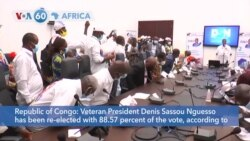 VOA60 Afrikaa - Congo's Longtime President Reelected in Landslide Win