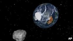 El asteroide mide hasta 548 metros de ancho y estará en su lugar más próximo a la Tierra este lunes.