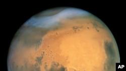 La planète mars (Nasa)