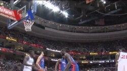 Tim NBA Philladelphia 76ers dan Detroit - Liputan Feature VOA Januari 2012