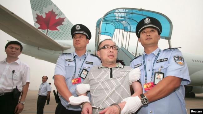 中国称去年追回一千多潜逃海外腐败人员