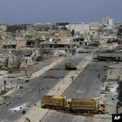 Les rebelles affirment avoir repris le contrôle de Misrata