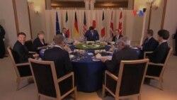 G7 culminó con señales alarmantes