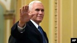Wakil Presiden Amerika Serikat Mike Pence (foto: dok).