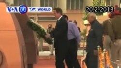 Thủ tướng Anh đặt vòng hoa cho các nạn nhân Ấn Độ (VOA60)