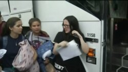 Marjory Stoneman Douglas Students Board Bus to Tallahassee