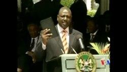 2014-10-07 美國之音視頻新聞: 肯尼亞總統將出庭海牙國際法院移交權力