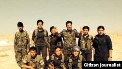 Bangîn ligel Şervanên YPG