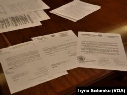 Фото: Копії перших дипломатичних нот незалежної України, які надсилалися в ООН, досі зберігаються в Постійному представництві