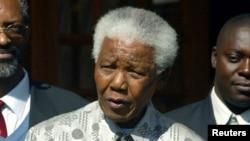 Nelson Mandela, 21 juillet 2004.