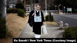 Junku Soto, a Buddhist priest. Credit Ko Sasaki for The New York Times.