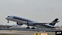 Archivo - Singapore Airlines reinaugura su ruta: Singapur - Nueva York, el 12 de octubre de 2018.