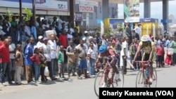 Course de velo en RDC (VOA/Charly Kasereka)