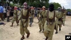 El Şebab militanları bir dönem Somali'nin başkenti Mogadişu'yu tamamen kontrol ediyordu