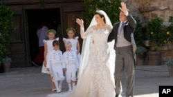 지난 9월 프랑스 남부에서 치뤄진 펠릭스 왕자의 결혼식.