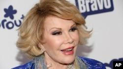 美國開創性喜劇演員,著名主持人瓊里佛斯(Joan Rivers)星期四去世。