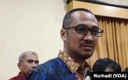 Mantan Ketua KPK, Abraham Samad. (Foto: VOA/Nurhadi)
