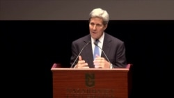 John Kerry Speaks in Kazakhstan