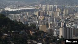 2016 Rio Olimpiyat Oyunları'na ev sahipliği yapacak tesislerden biri, Olimpiyat Stadyumu