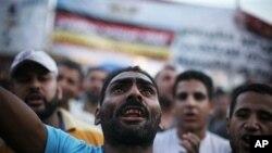 이집트 카이로 타흐리르 광장에 집결한 반정부 시위대