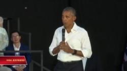 Tổng thống Obama nói chuyện với thanh niên Đông Nam Á ở Lào