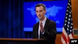 네드 프라이스 미국 국무부 대변인.