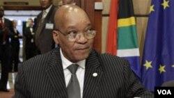 Presiden Afrika Selatan, Jacob Zuma.