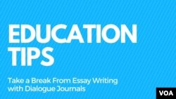 Take a Break From Essay Writing with Dialogue Journals