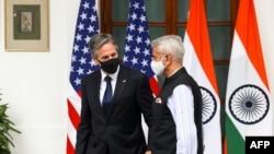 Ministri spoljnih poslova SAD i Indije Antony Blinken i Subrahmanijam Džaišankar