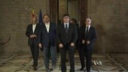 Katalan liderlər mübahisəli referendumdan sonra müstəqillik hüquqlarını elan ediblər