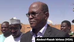 Cheloutane Mohamed, gouverneur de la région de Tillabéri, après l'attaque sur la prison. (VOA/Abdoul-Razak Idrissa)