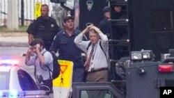 Од евакуацијата на вработените во зградата каде се случи нападот