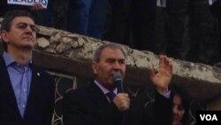 Mehsul stadionunda aksiya
