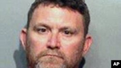 This undated photo provided by the Des Moines Police Department shows Scott Michael Greene, of Urbandale, Iowa. Des Moines and Urbandale Police said in a statement Wednesday, Nov. 2, 2016, that they have identified Greene as a suspect in the killings earl