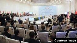 Conference held in Tashkent, Uzbekistan, March 27, 2018.
