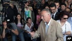 Kandidat presiden Turki Ekmeleddin Ihsanoglu