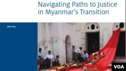 ICTJ Myanmar Report, Photo credit: ICTJ