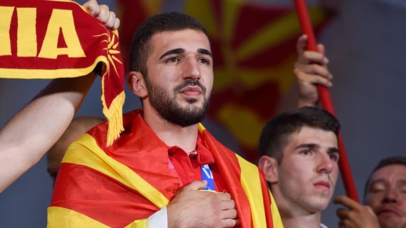 Дејан Георгиевски пречекан како херој: Ветивме медал и го донесовме – од Париз ќе донесеме и злато