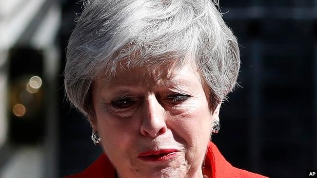 英国首相宣布将于6月7日辞职