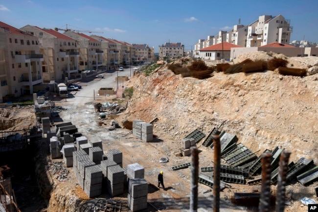 Batı Şeria'da Modlin İllit yerleşimi