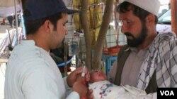 کندز کې د دولت وسله والو مخالفینو تر کنټرول لاندې سیمو کې هم د پولیو واکسین ته اجازه ورکړل شوې ده.