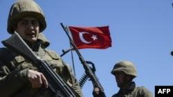 حدود ۵۰۰ سرباز ترکیه در پایگاه بعشیقه در عراق مستقر اند