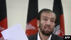 Голова Незалежної виборчої комісії Афганістану Фазель Ахмад Манаві.
