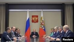 Засідання Радбезу Росії на чолі із Путіним