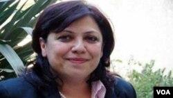سۆزان شههاب ڕاوێژکاری مهکتهبی سیاسی یهکێتیی بۆ کاروباری پهرلهمانی کوردستان
