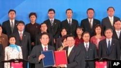 第六次江陳會簽署了兩岸醫藥協議