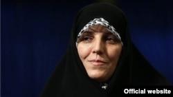 شهیندخت مولاوردی معاون رئیس جمهوری ایران در امور زنان