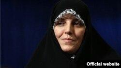 شهیندخت مولاوردی معاون رئیس جمهوری ایران در امور زنان و خانواده